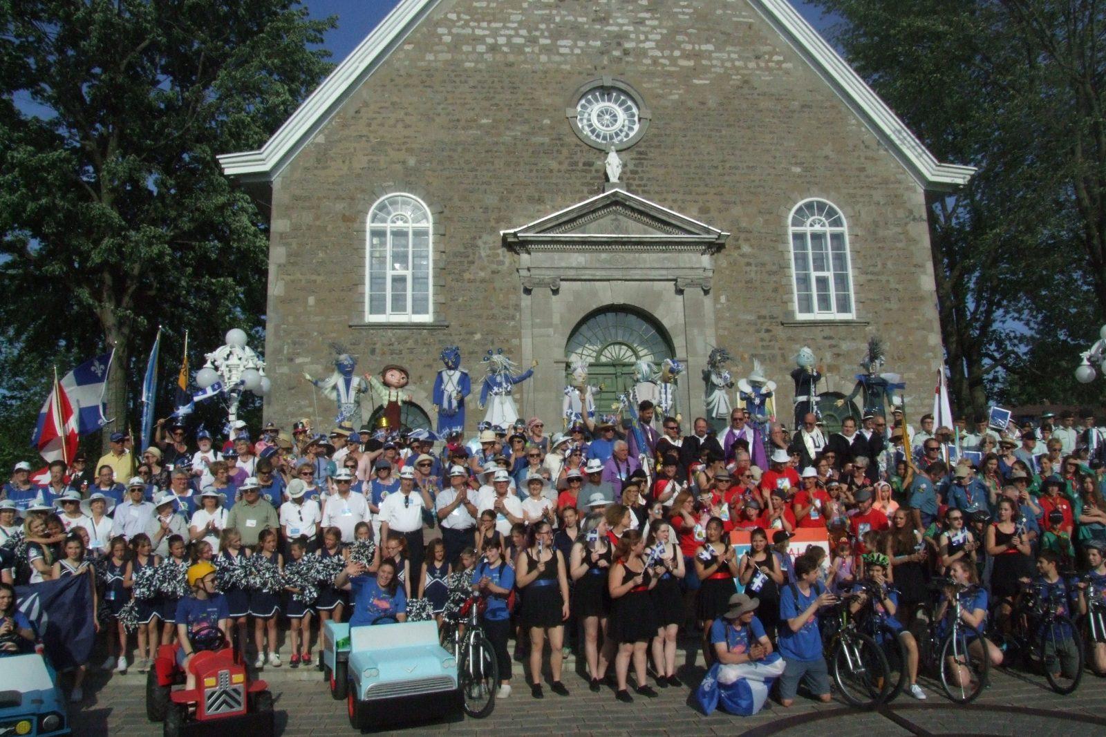 Un clin d'oeil au passé à la fête nationale dans le Vieux-Boucherville