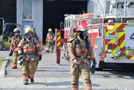 Les pompiers ont éteint 18 feux de bâtiment à Boucherville en 2018