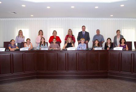 De jeunes Julievillois vivent l'expérience d'une séance du conseil municipal