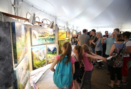 Plus de 2 000 visiteurs pour le Symposium de peinture et de sculpture Art & Passion de Sainte-Julie