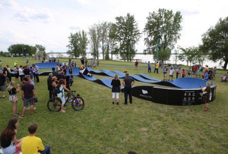 Inauguration à Varennes du premier PumpTrack de nouvelle génération unique au Québec!