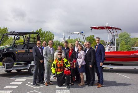 La MRC de Marguerite-D'Youville acquiert de nouveaux véhicules d'urgence pour des interventions en milieu isolé