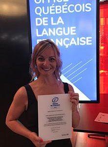 Le cégep Édouard-Montpetit finaliste aux Mérites du français de l'OQLF