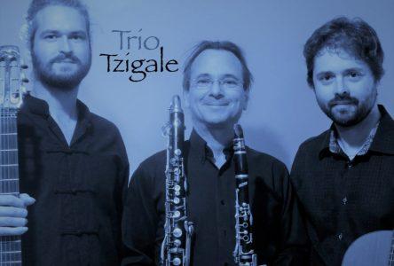 Le Trio manouche Tzygale au Rendez-vous champêtres Desjardins le 7 juillet