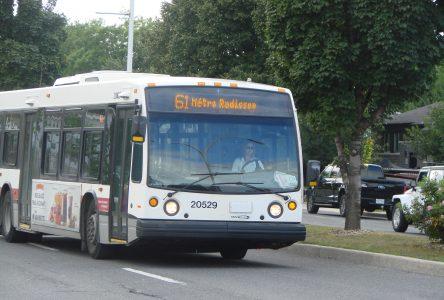 Le Réseau de transport maintient ses services, malgré le confinement