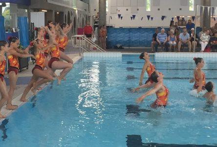 La natation artistique plonge au niveau compétitif en septembre prochain