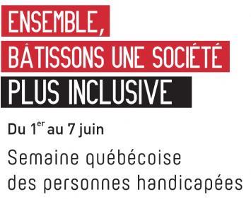 Semaine des personnes handicapées du 1er au 7 juin