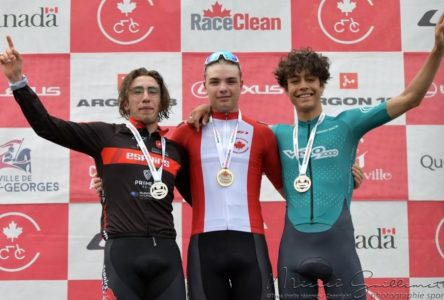 Championnats canadiens sur route: Raphaël Parisella : le cycliste le plus rapide de sa catégorie
