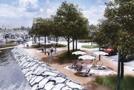 Contrecoeur : un tout nouveau design urbain à la place François-De Sales-Gervais