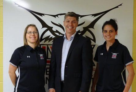 Une entraîneure-chef et une conseillère sportive se joignent aux Lynx du cégep Édouard-Montpetit