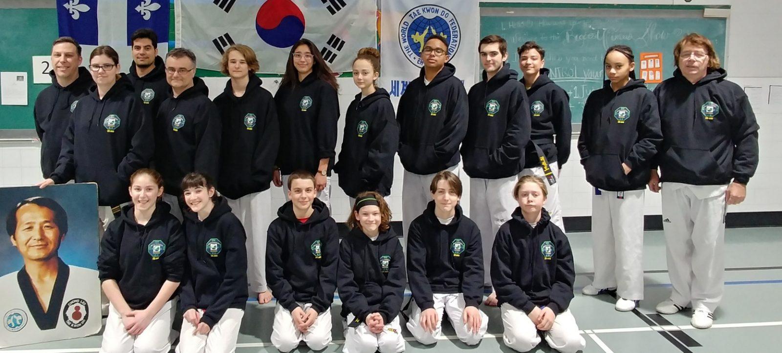 Le Club de taekwondo de Varennes souffle 25 bougies