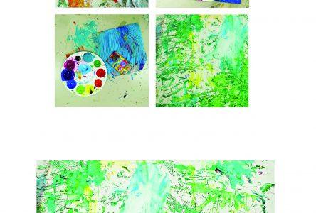La Galerie Lez'arts présente l'exposition Jouer la couleur réalisée par le groupe Sans Frontière de l'AEAHBV