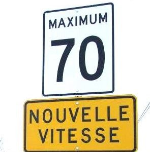 Réduction de la vitesse maximale permise sur une portion de la route 132 à Contrecoeur