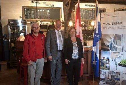 Le gouvernement du Canada annonce un nouvel investissement pour stimuler le tourisme en Montérégie