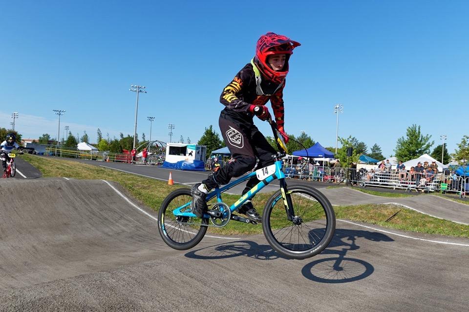 Le Club de BMX Rive-Sud était l'hôte de la Coupe du Québec