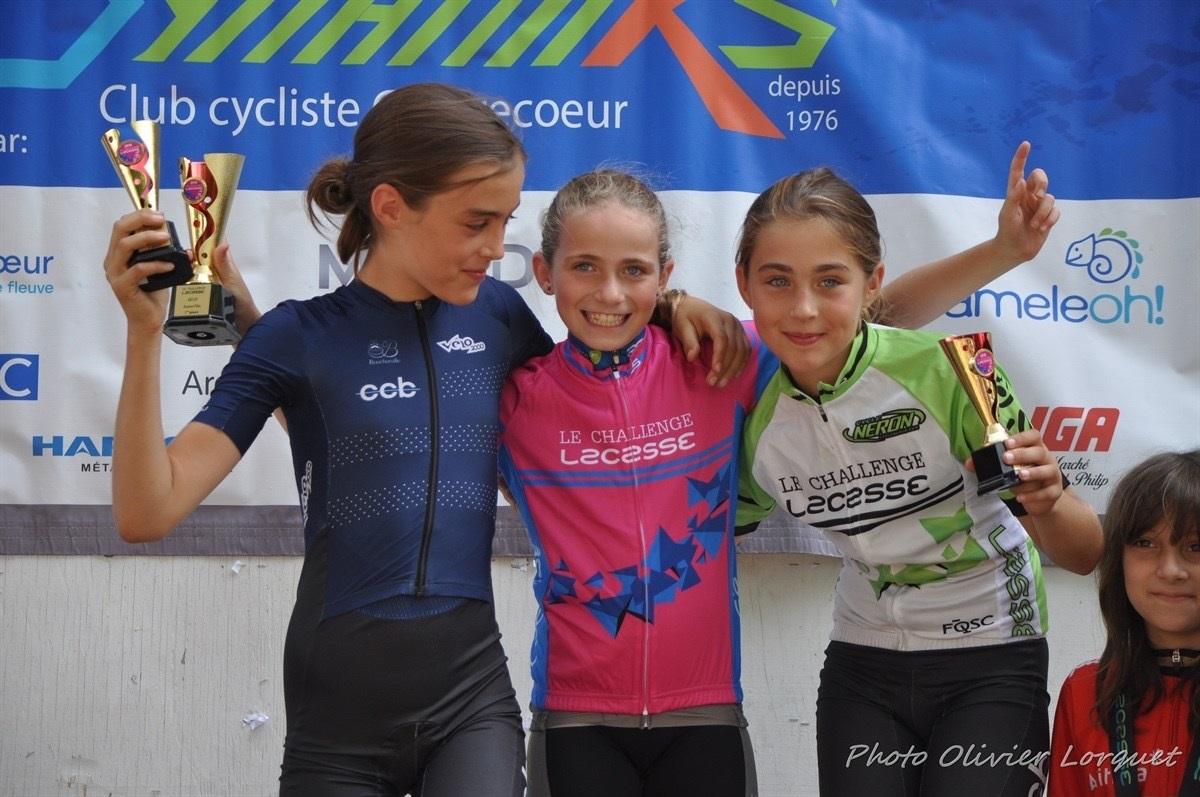 Finale du Challenge SS Lacasse : trois maillots roses et deux maillots blancs décernés à des coureurs de Boucherville