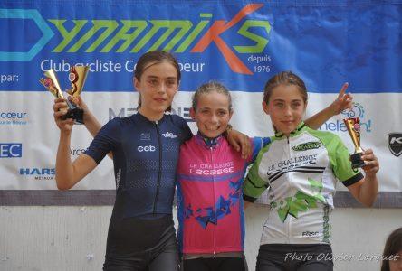 Challenge Lacasse: les cyclistes du club Dynamiks récoltent trois médailles