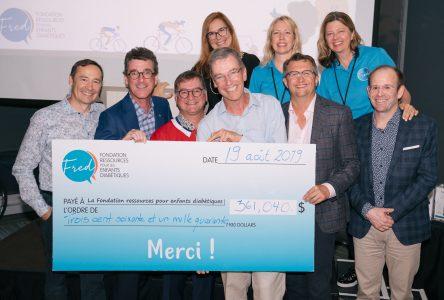 Classique Golf-Vélo 2019 de FRED à Sainte-Julie : 361 040 $ au profit des enfants diabétiques