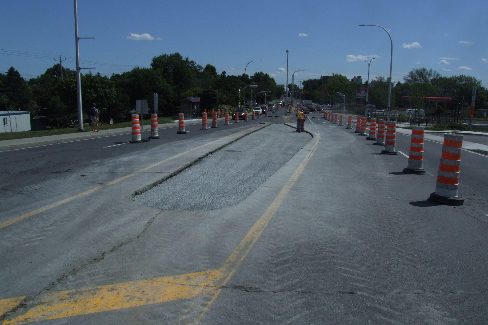 Coup d'envoi des travaux de réfection du viaduc du boulevard De Montarville