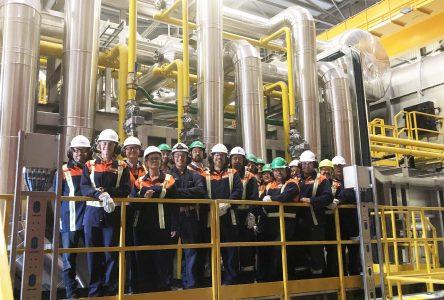 Inauguration du nouveau four de réchauffe à Contrecœur dans un contexte de hausse des exportations d'acier au pays