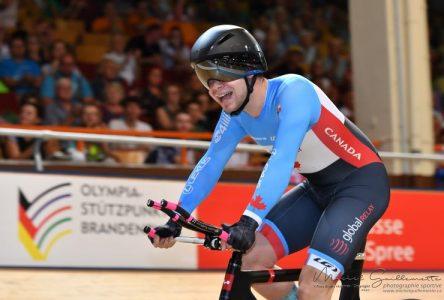 Tristan Jussaume a remporté le bronze aux Championnats du monde juniors en Allemagne!
