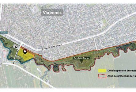Une grande superficie du parc Saint-Charles sera protégée à perpétuité