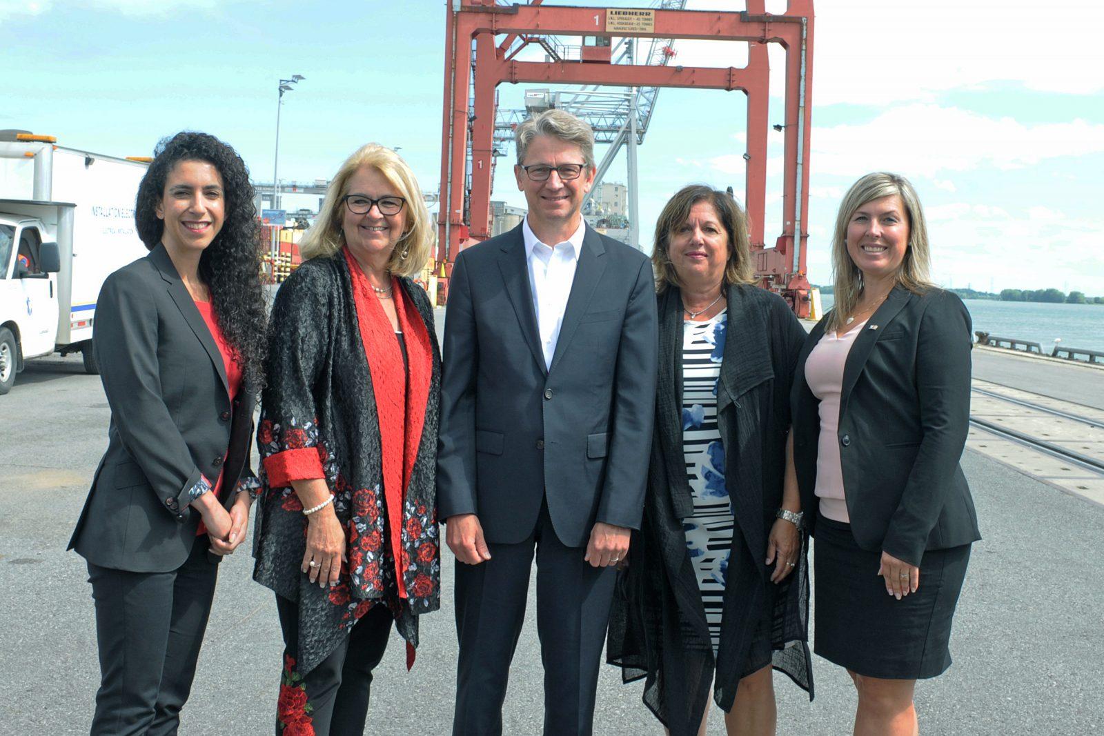 La MRC se réjouit de l'implication de la Banque de l'infrastructure dans le projet du terminal portuaire de Contrecœur