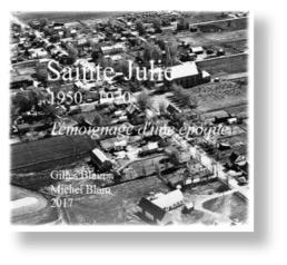Le document « Sainte-Julie 1950-1970: Témoignages d'une époque » sera disponible à la bibliothèque municipale