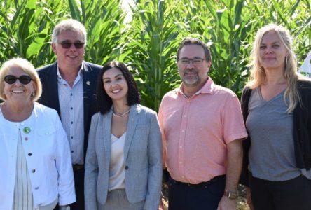 320 000 $ pour soutenir les initiatives du secteur agricole afin d'améliorer la qualité de l'eau et la biodiversité!