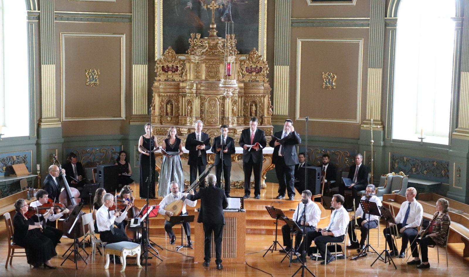 Les Vêpres de la Vierge de Monteverdi; un concert exceptionnel à l'église Sainte-Famille
