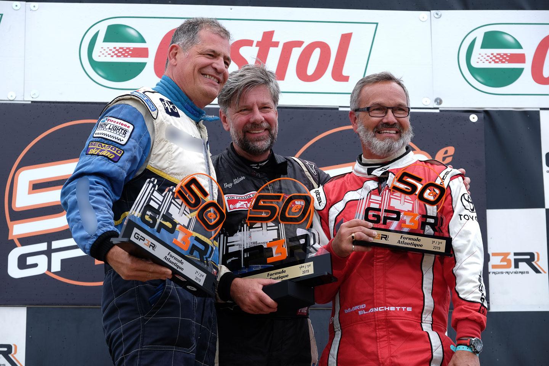 Le pilote bouchervillois Guy Gilain remporte le Grand Prix de Trois-Rivières