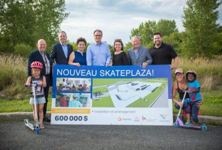 Début de la construction du nouveau « Skateplaza » à Varennes