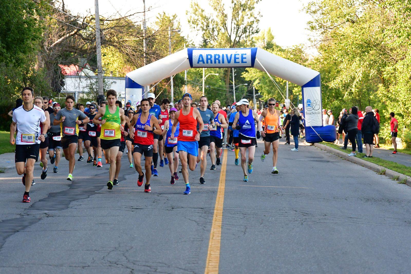 1485  participants rassemblés : record de fréquentation au 30 km des rives de Boucherville