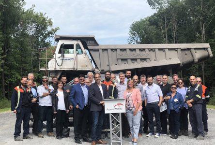 Jusqu'à 150 camions de moins par jour sur le réseau routier municipal