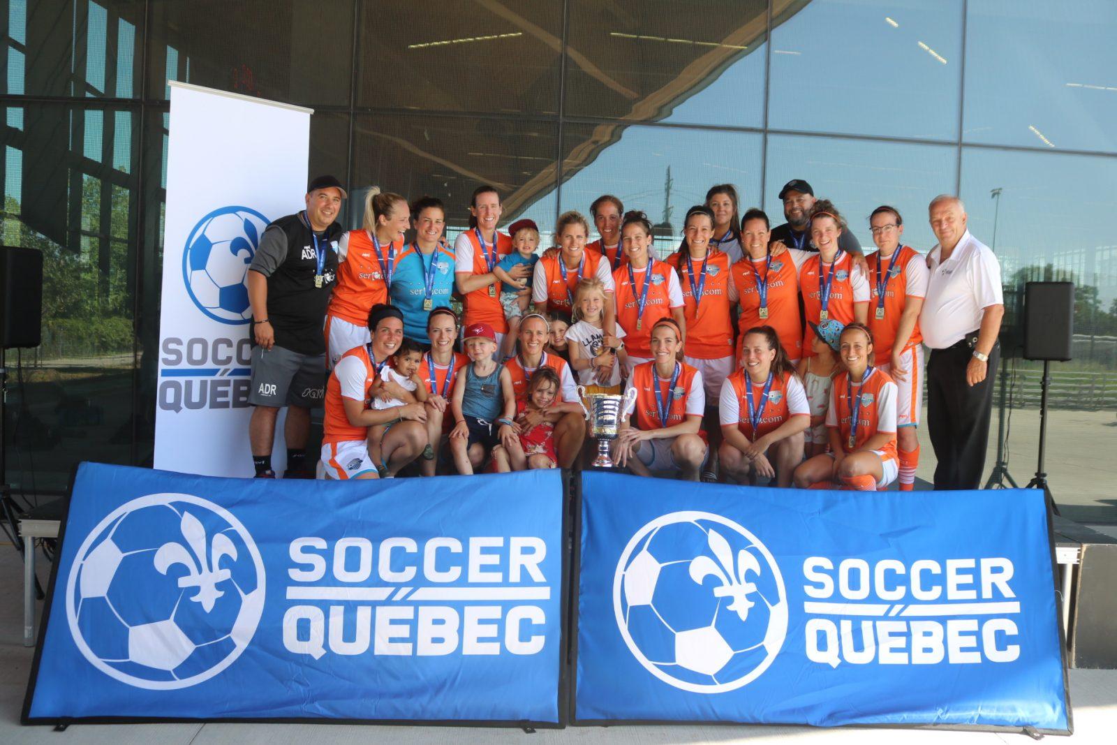 Une victoire pour l'équipe féminine de soccer  Varennes Saint-Amable