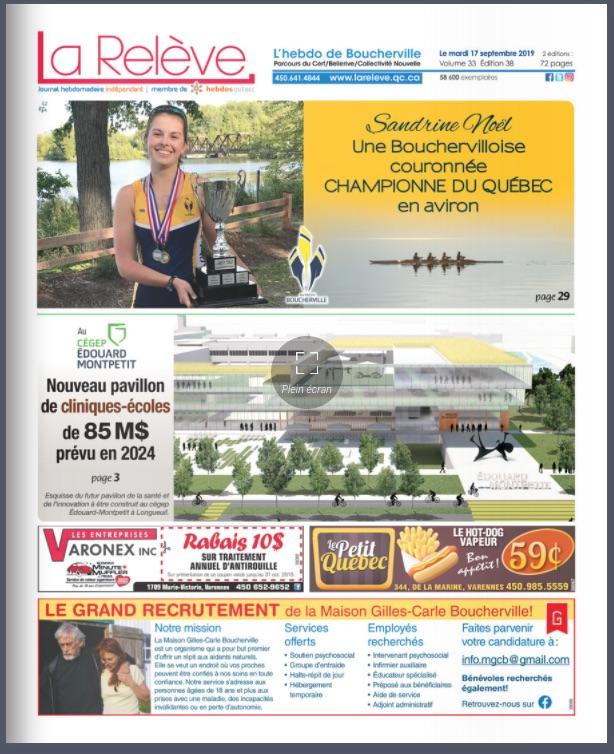 Boucherville - 17 septembre 2019