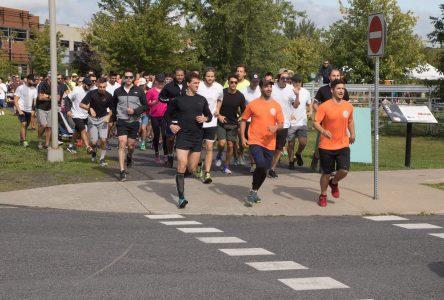 Près de 200 personnes ont couru en mémoire de Julien Robitaille