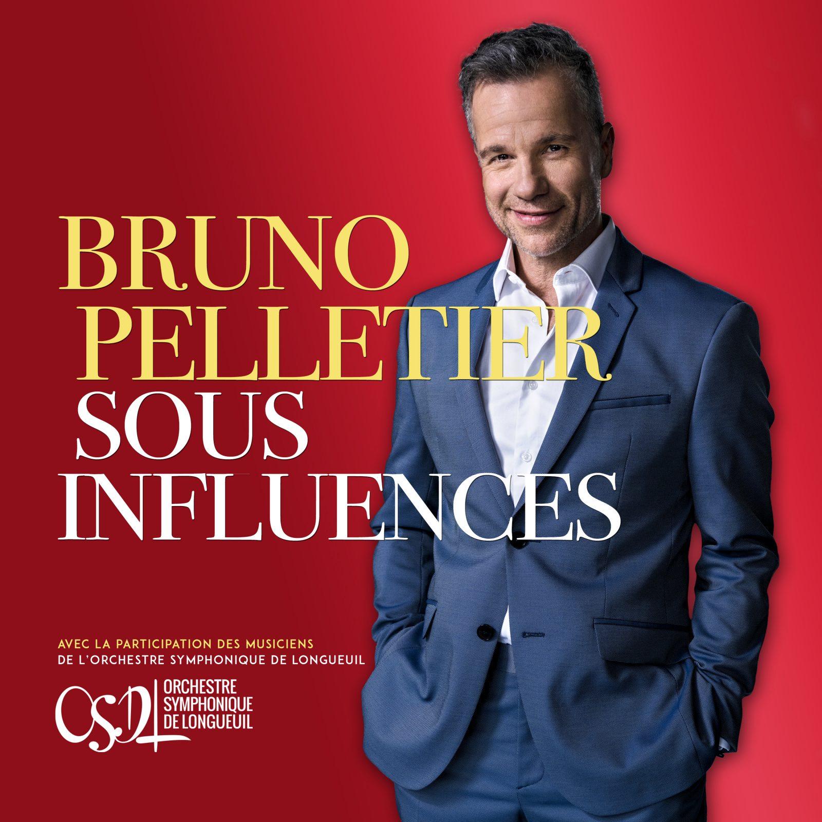 Bruno Pelletier lance un nouvel album intitulé Sous influences