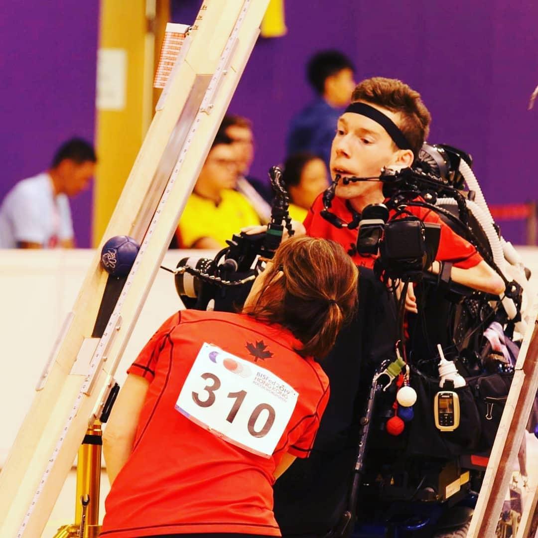 Une médaille de bronze aux Jeux parapanaméricains pour le Verchèrois Éric Bussière