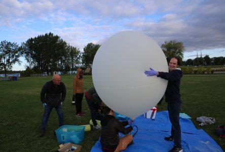 Un ballon à 27 km d'altitude afin d'aider à de futures recherches scientifiques!
