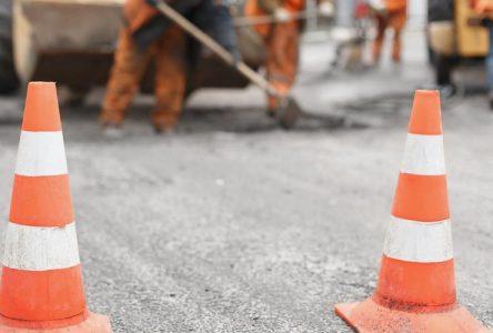 Deux chantiers de réparation sur l'autoroute 30 à Varennes et Verchères