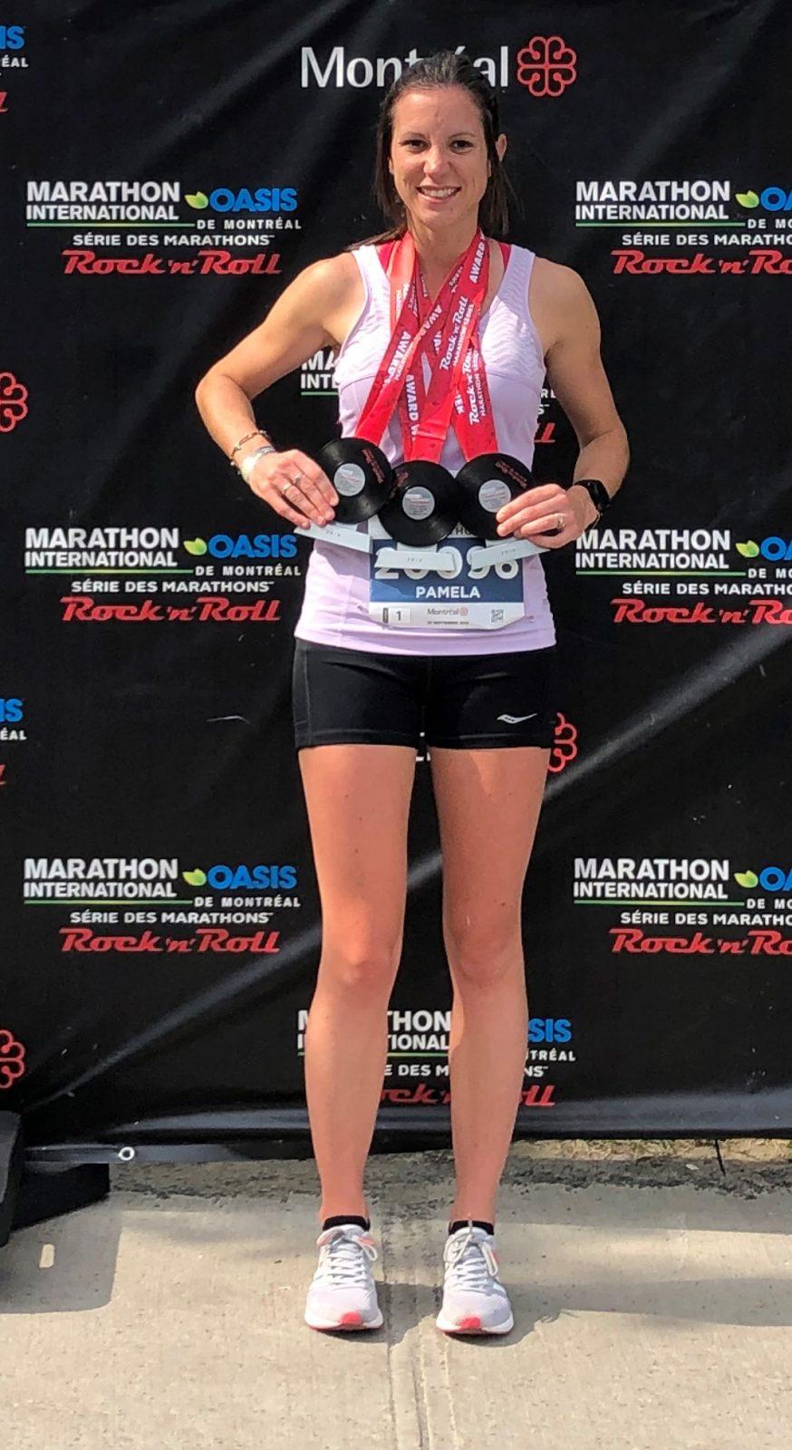 Marathon international de Montréal: la Julievilloise Paméla Bouvier sacrée meilleure Canadienne