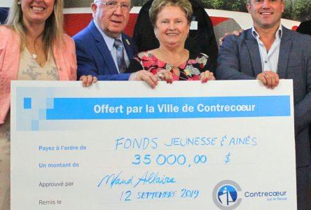 Tournoi de golf de la mairesse de Contrecœur: 35 000 $ à la jeunesse et aux aînés