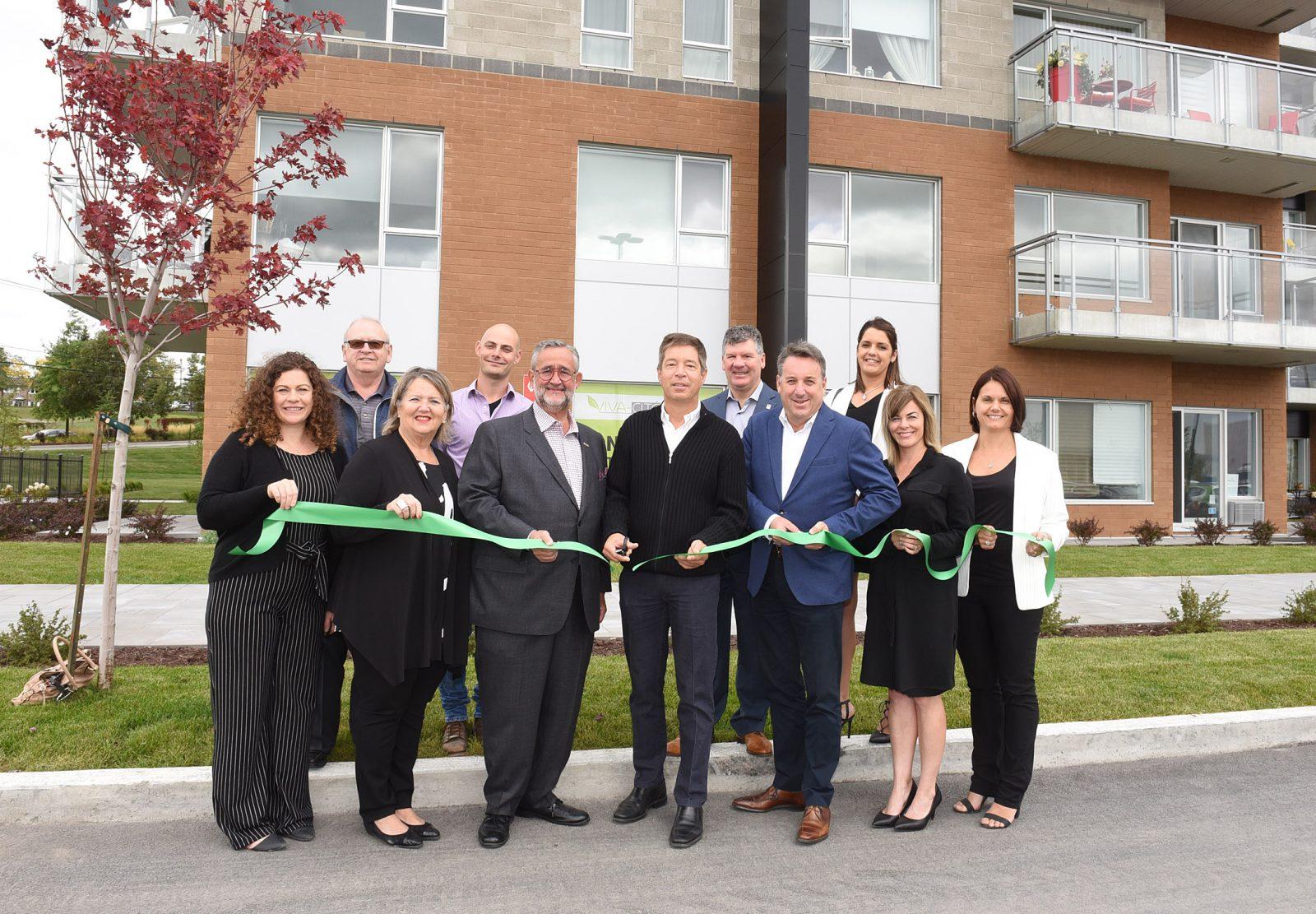 Inauguration des complexes résidentiels VIVA-CITÉ Brossard et VIVA-CITÉ Sainte-Julie
