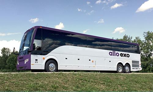 Grève possible sur le réseau d'autobus exo