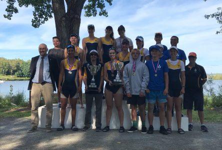 Le Club d'aviron de Boucherville remporte la Coupe Québec Jeunesse