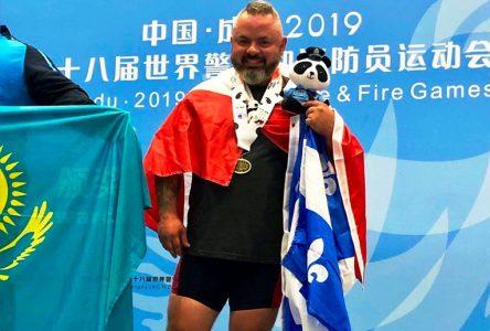 Un sergent du SPAL médaillé de bronze aux Jeux mondiaux des policiers et pompiers