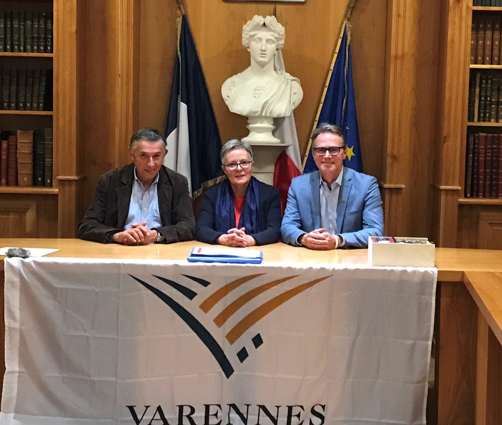 Projet de jumelage avec Bécon-les-Granits pour le 350e anniversaire de Varennes