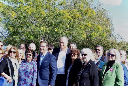 Le chef du Bloc Québécois de passage à Sainte-Julie afin de compléter la plateforme du parti pour les aînés
