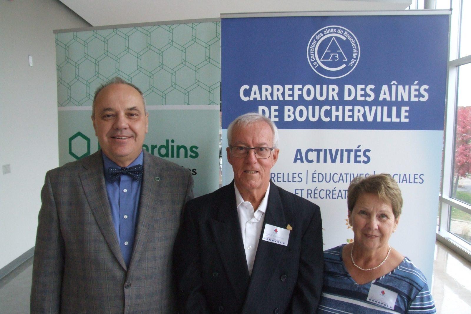 25e collecte de sang du Carrefour des aînés et de la Caisse Desjardins des Patriotes – Le président d'honneur Pierre Toupin fait son 175e don